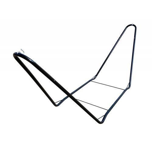 CHILLOUNGE® Black - Supporto in acciaio verniciato a polvere per amache singola
