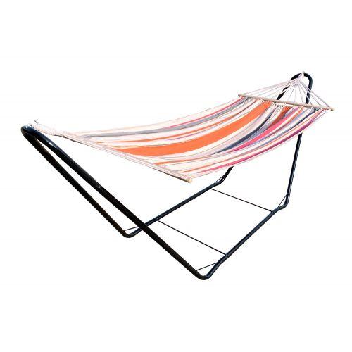 CHILLOUNGE® Sunrise - Amaca a bastone singola con supporto in acciaio verniciato a polvere