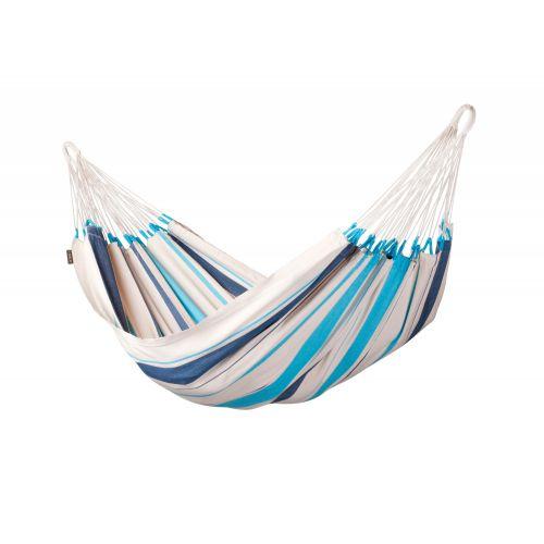 Caribeña Aqua Blue - Amaca classica singola in cotone