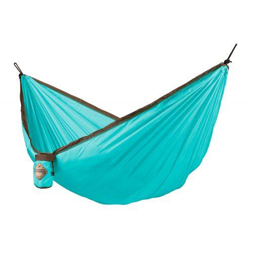Colibri Turquoise - Amaca da viaggio singola con fissaggio