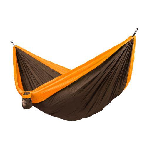Colibri Orange - Amaca da viaggio doppia con fissaggio