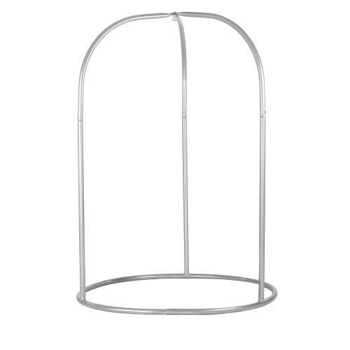 Romano Silver - Supporto in acciaio verniciato a polvere per sedie pensili basic o lounger
