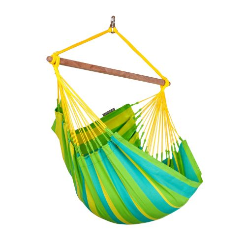 Sonrisa Lime - Sedia pensile basic outdoor